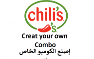 Chili's create your own combo