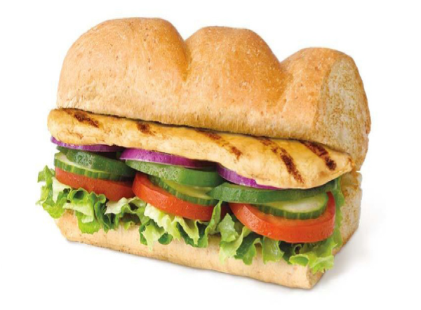 Oven roasted chicken sandwich ( 12 inch )