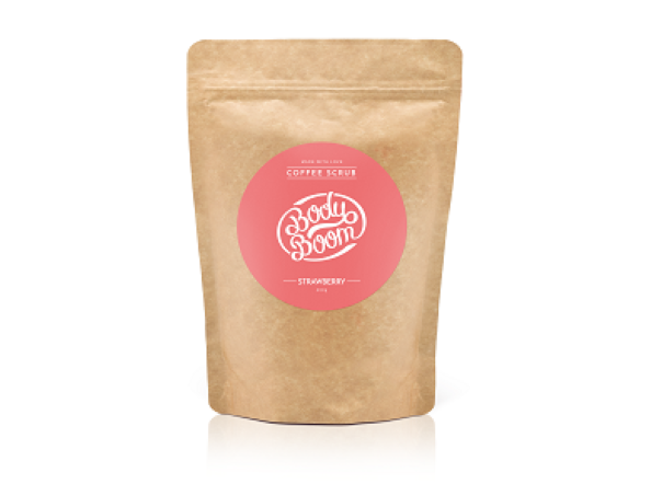 Coffee scrub-strawberry