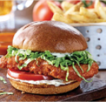 Buffalo chicken ranch sandwich