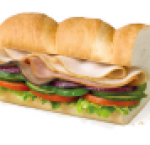 Subway club sandwich ( 6 inch )