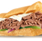 Steak & cheese sandwich ( 6 inch )