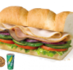 Subway club meal ( 12 inch )