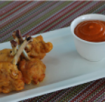 Chicken wings pakora