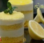 Lemon cheese velvet - piece