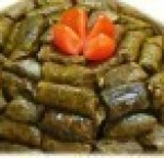 Grape leaves with meat