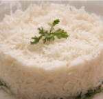 Boiled white rice