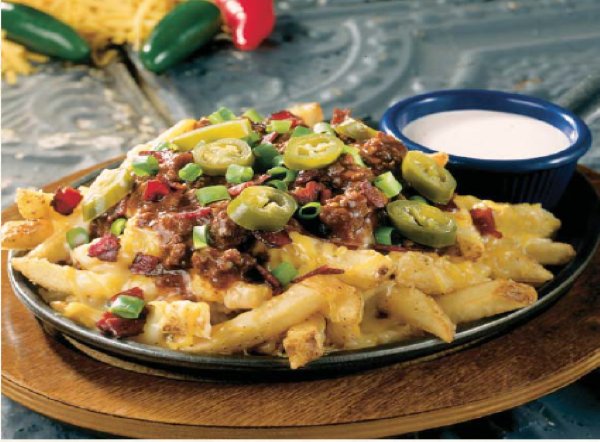Texas cheese fries